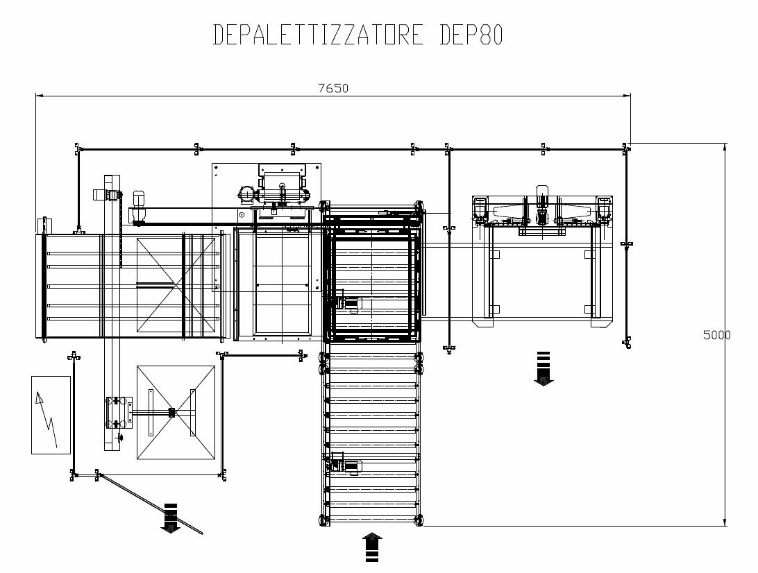 Depallettizzatore DEP 80