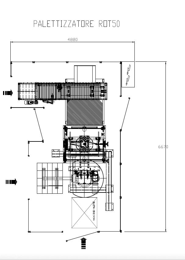 Pallettizzatore ROT50